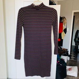 Topshop//striped dress size 2